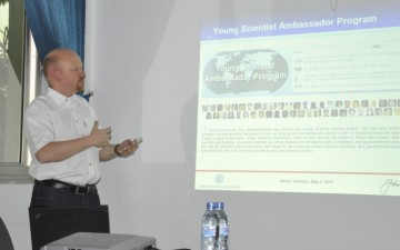 Young Scientist Ambassador Programme – outreach training course in Vietnam