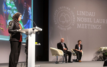 GYA addressed hundreds of Young Scientists at the 64th Lindau Nobel Laureates Meeting