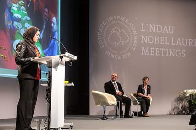 Photo: Christian Flemming/Lindau Nobel Laureate Meetings