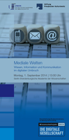 "Sabina Leonelli is panelist at ""Mediale Welten"" (Akademieunion, Stiftung Preussischer Kulturbesitz)"