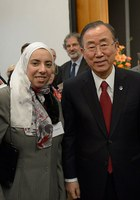 Rees Kassen and Sherien El-Agroudy presented at United Nation's new Scientific Advisory Board