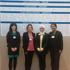 Report of the GYA participation at WEF Annual Meeting of New Champions 2014