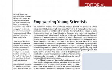 Empowering Young Scientists