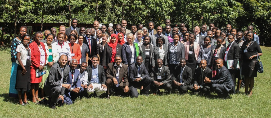 Group of participants at the Africa Young Academies Regional Conference in Nairobi, Kenya