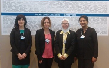 5 GYA members participate at WEF Annual Meeting of New Champions 2014