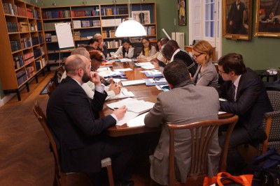 Discussion at the 2nd Worldwide Meeting of Young Academies.  Photo by Sveriges Unga Akademi