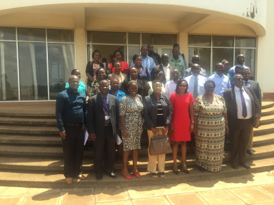 Uganda National Young Academy group photo