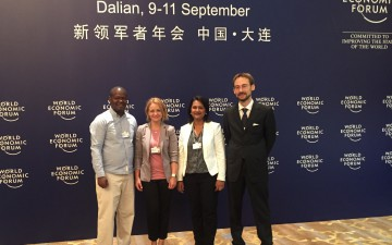 GYA members participated at WEF Young Scientists Annual Meeting of the New Champions 2015