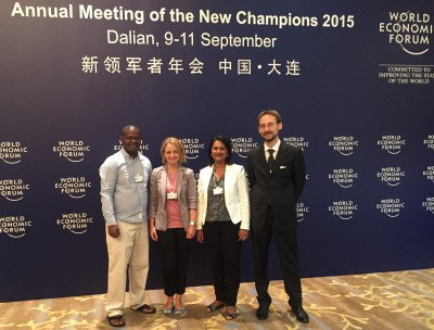 GYA members at WEF 2015