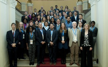 """Group of Young Scientists who participated in """"Scoping the Future"""". Photo: IAP"""