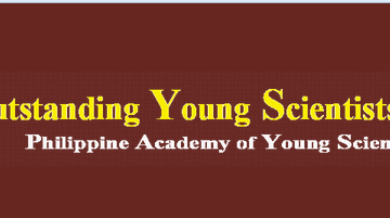 Philippine Academy of Young Scientists and 11th Annual Meeting of Scientific Convention (AMSC)