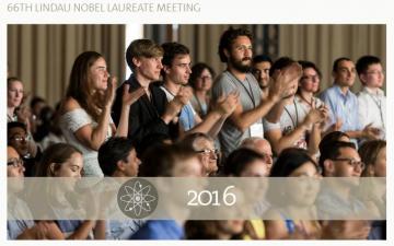 GYA members attending the 66th Nobel Laureate Meeting in Lindau, Germany