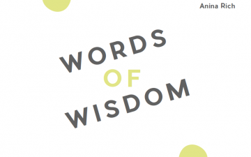 Words of Wisdom: Cherished advice from academic mentors around the world.