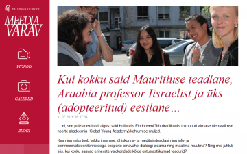 Take a Mauritius scientist, an Arab professor from Israel and an (adopted) Estonian...