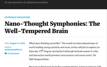 Nano-Thought Symphonies: The Well-Tempered Brain
