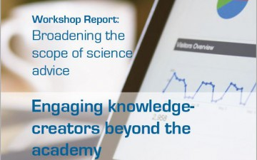 Broadening the scope of science advice
