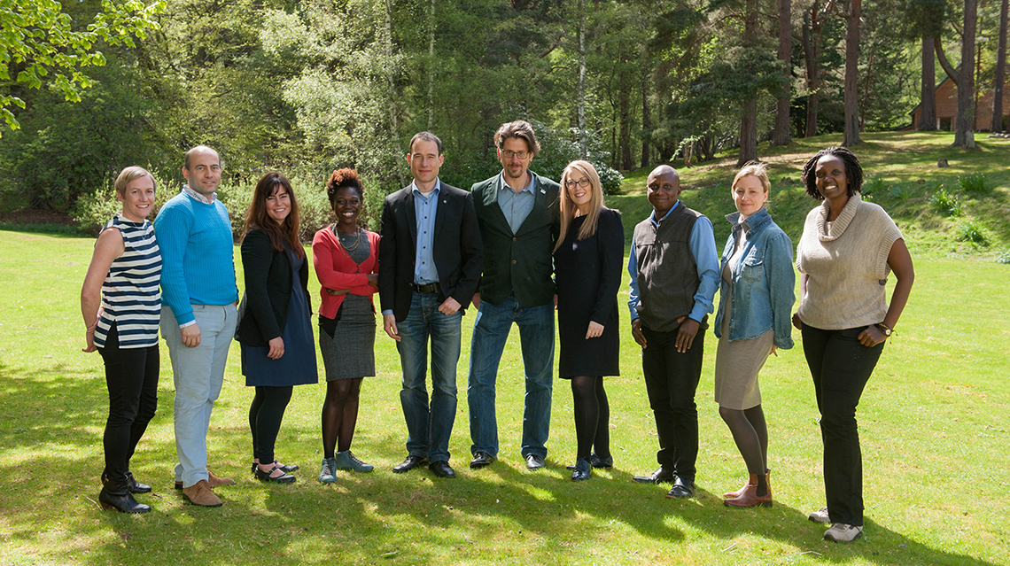 The newly elected Executive Committee of the GYA.