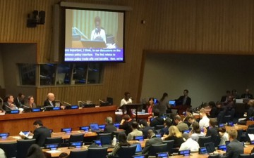 GYA Co-Chair Tolu Oni speaks at UN High-Level Political Forum
