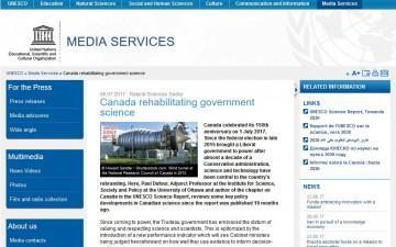 Canada rehabilitating government science