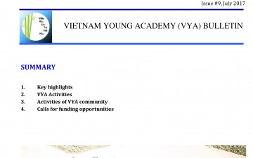 Vietnam Young Academy (VYA) Bulletin July 2017