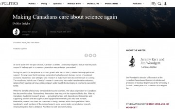 Making Canadians care about science again