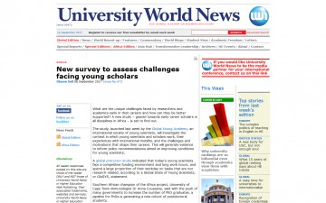 New survey to assess challenges facing young scholars