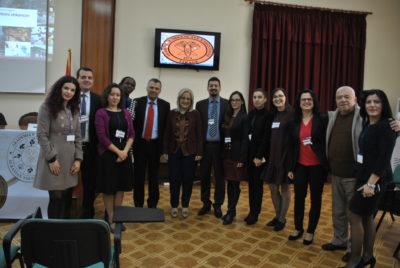 Albania YA members and Education Minister