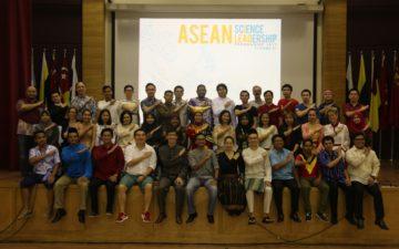 ASEAN Science Leadership Programme 2017 participants