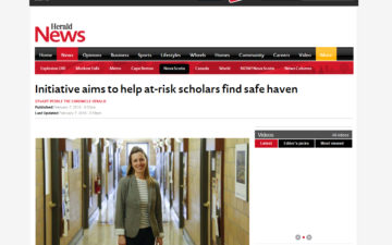 Initiative aims to help at-risk scholars find safe haven