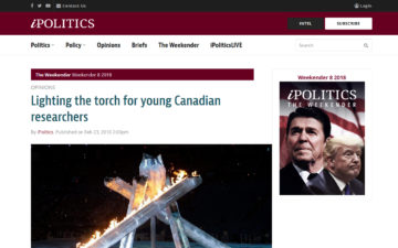 Lighting the torch for young Canadian researchers