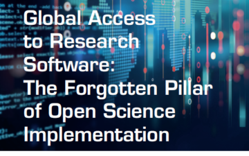 Global Access to Research Software: The Forgotten Pillar of Open Science Implementation