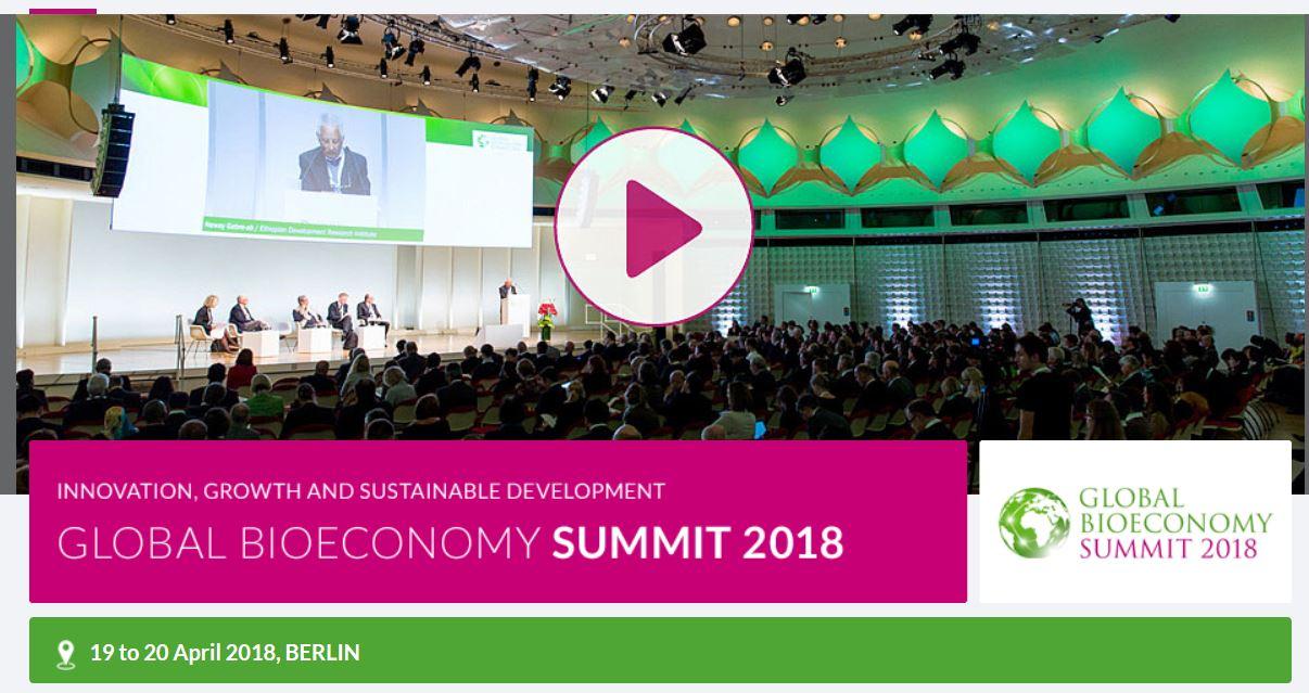 2nd Global Bioeconomy Summit