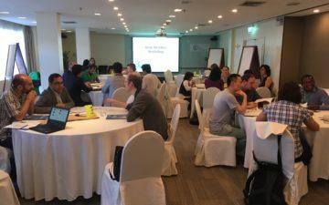 New GYA members took part in first pre-AGM science leadership workshop