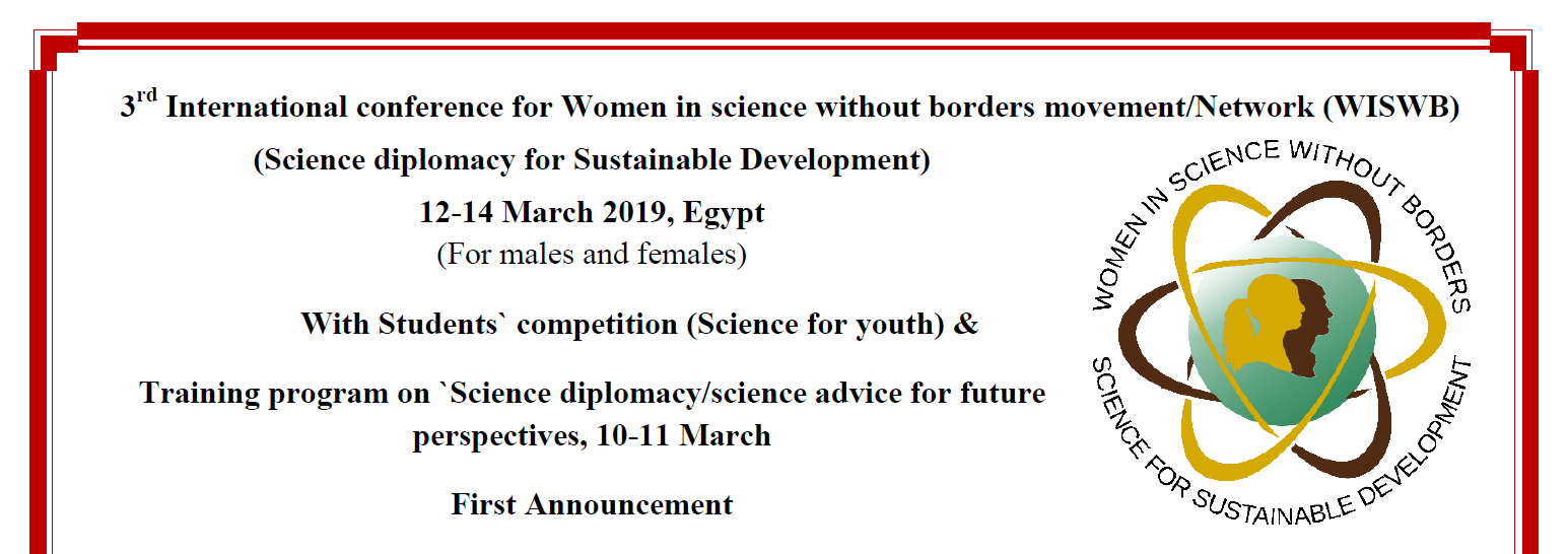 3rd Women in Science without Borders Conference