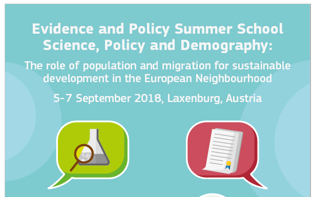 Evidence and policy summer school – science, policy and demography