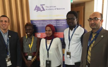GYA members contribute during Africa Oxford Initiative - African Academy of Sciences Affiliates Convention