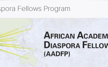 Young Academies selected for InterAcademy Partnership African Academies Diaspora Fellows Programme