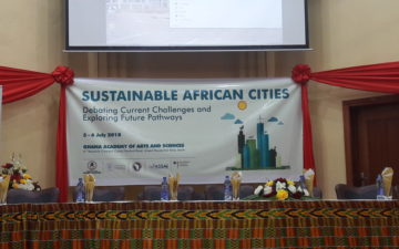 "Report from the ""Sustainable African Cities"" Conference, July 2018"