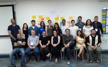 Young scientists active at Open Science Forum for Latin America and the Caribbean (CILAC 2018)