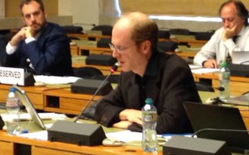 Executive Committee member speaks at International Covenant on Economic, Social and Cultural Rights