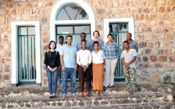GYA member Binyam Sisay Mendisu wears many hats during Africa Science Week