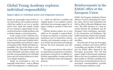 Global Young Academy explores individual responsibility