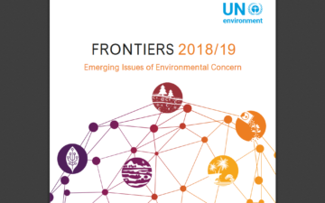 GYA member contributes to UNEP Frontiers 2019