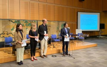 Tsukuba Conference closes with declaration penned by GYA members
