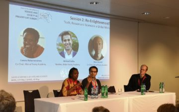 GYA organizes panel on Enlightenment at ALLEA 25th anniversary conference