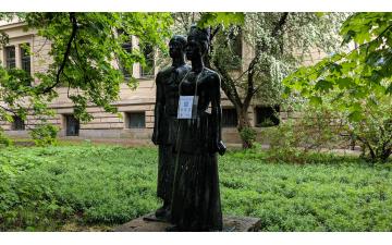 Statue of Anton Wilhelm Amo in Halle