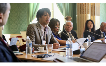 GYA members contribute to the G7 Academies Meeting in Paris, France