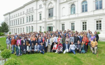 Participants at the GYA 2019 International Conference of Young Scientists 'Re-Enlightenment? Truth, reason and science in a global world'. Photo by Markus Scholz