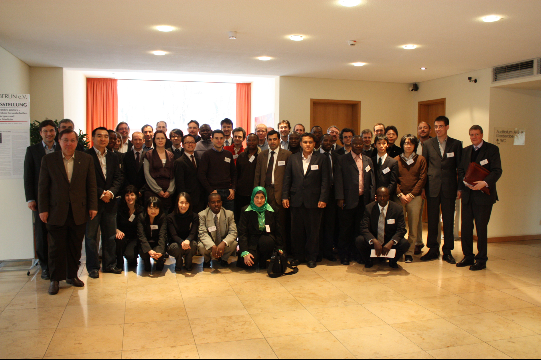 Founding Meeting of the GYA in 2010