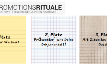 Junge Akademie competition on Celebration Rituals